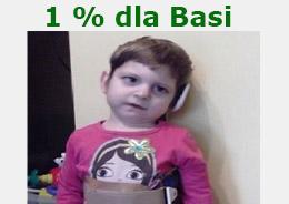 Przekaż 1% dla Basi